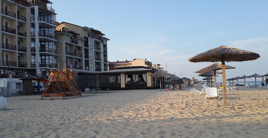 Центральный пляж Затоки