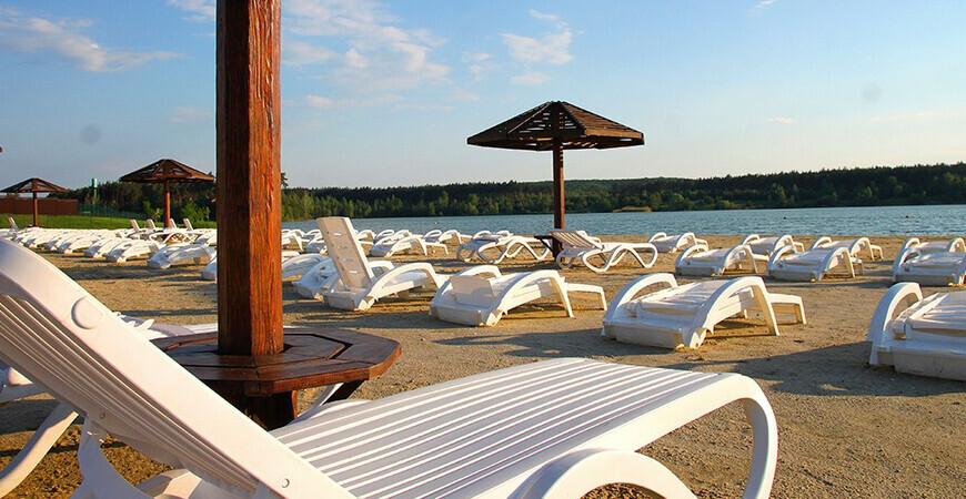 Пляж «Лазурный» в Белгороде