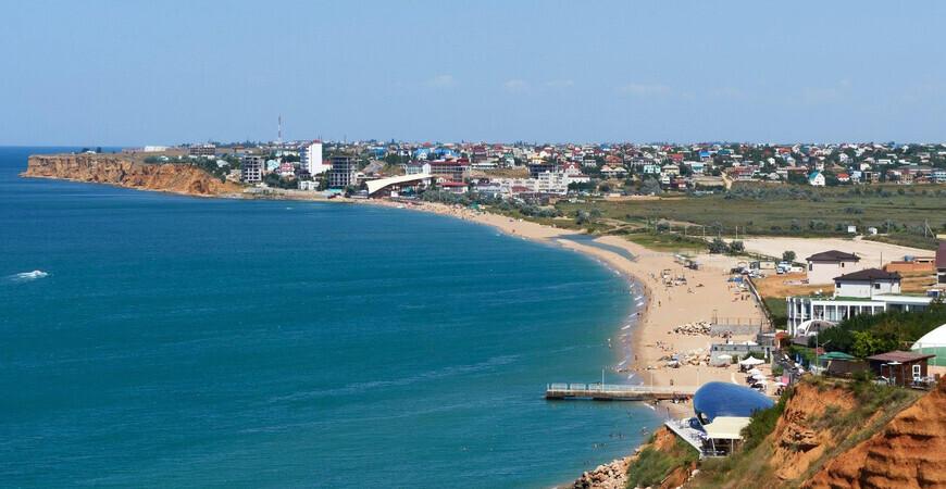 Пляж «Орловка» в Крыму
