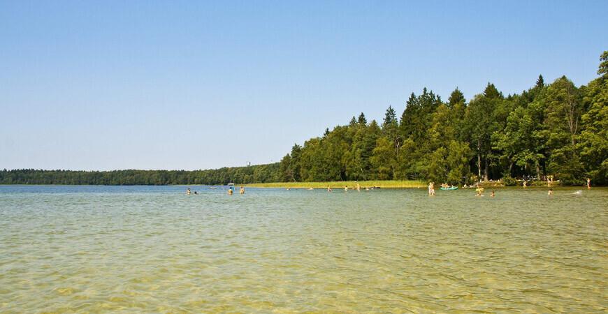 Озеро Свитязь в Республике Беларусь