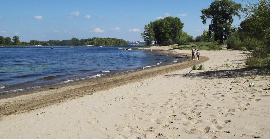 Пляж «Нижний» в Самаре