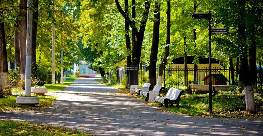 Парк Талалихина в Подольске