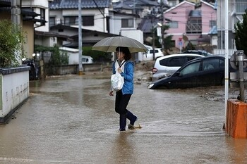 В Японии эвакуируют миллион жителей острова Кюсю из-за сильных дождей