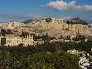 Афинский Акрополь сокращает график работы из-за жары