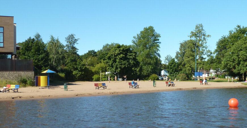 Офицерский пляж в Сестрорецке