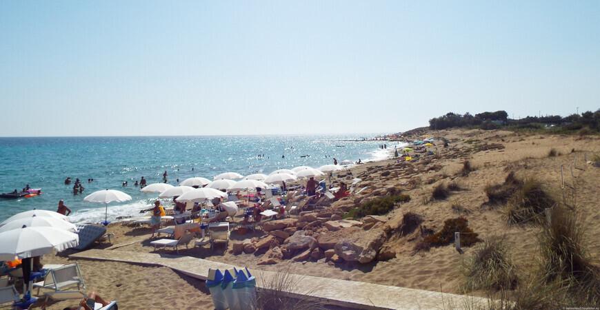 Пляж Посто 9