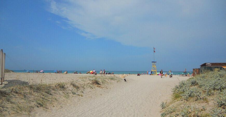Пляж «Майами» в Крыму