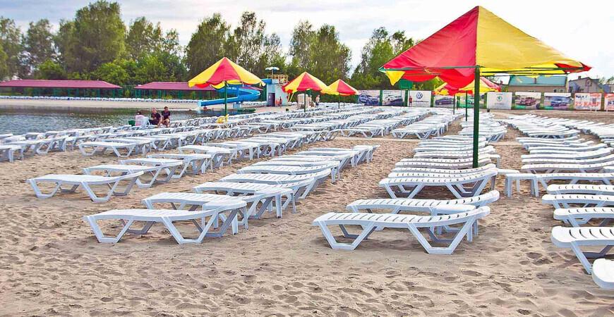 «Солнечный» пляж в Барнауле