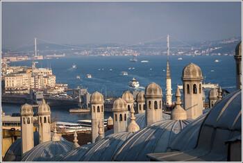 С начала года Стамбул принял рекордное число туристов