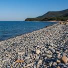 Пляж в Малом Утрише