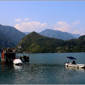 Рожденное Дриной. Озеро Перучац