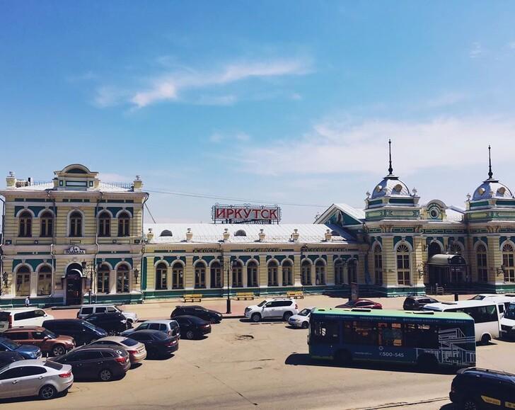 Вокзал Иркутска