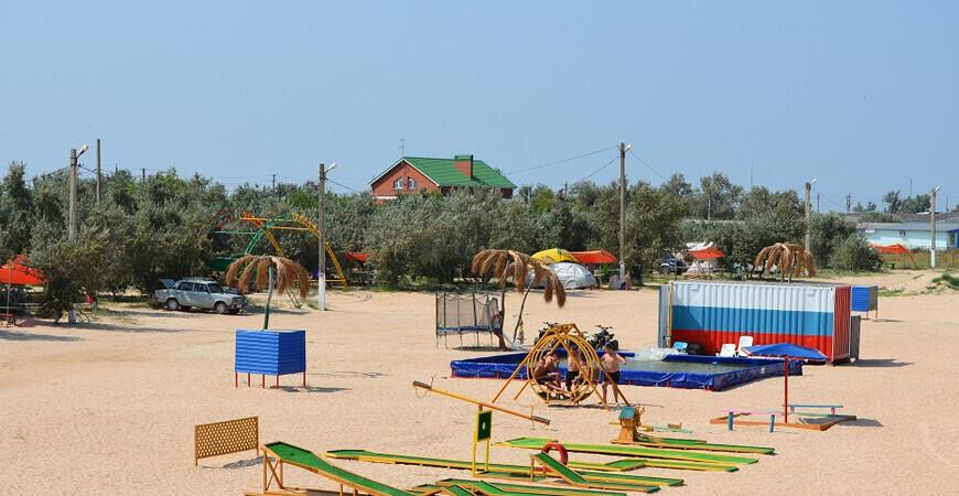 Пляж «Оазис» в Ачуево