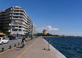 Самостоятельно в Грецию в июле 2019. Начало - Салоники.