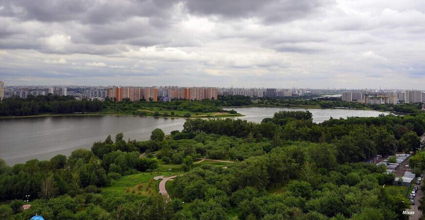 Парк «Борисовские пруды» в Москве