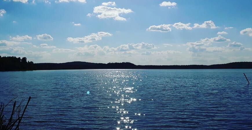Озеро Глухое около Екатеринбурга