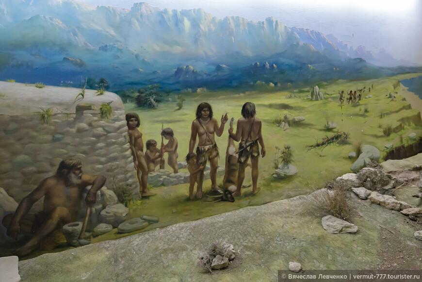 На фото: Ещё один музей Киренийской крепости посвящён   древним жителям острова времён неолита, чьи следы жизнедеятельности обнаружены при раскопках в местечке Вриси (Vrysi), что расположено в девяти километрах от Кирении.