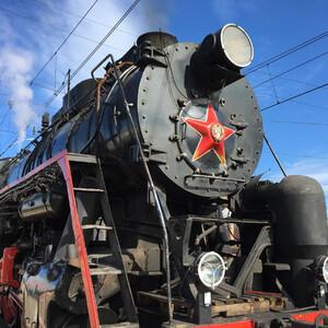 По дороге в Вышний Волочёк (Ретро-поезд)