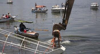 Туристическое судно затонуло на Ниле в Египте