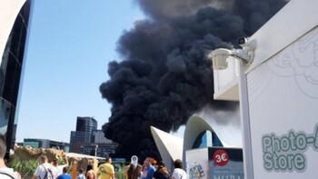 Пожар произошёл в крупнейшем океанариуме Европы