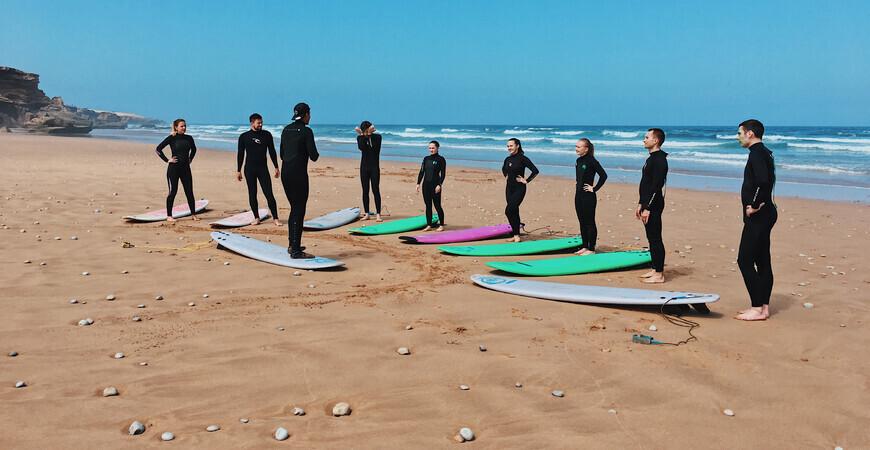 Школа серфинга Forever Surf Morocco