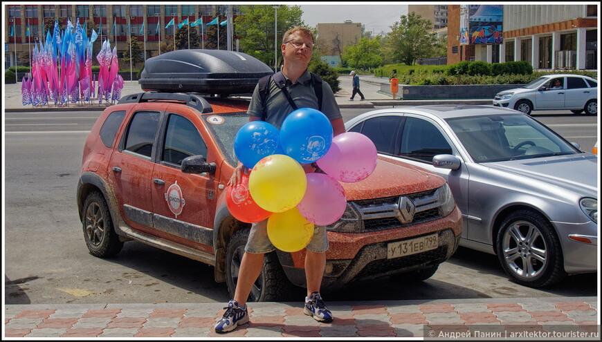 9 мая начался с поздравления Вячеслава, у которого был День Рождения. Приятно начать день с праздника.