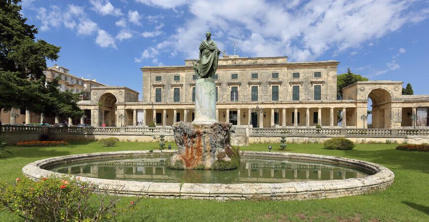 Дворец святых Михаила и Георгия в Керкире