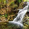 Водопад Милломерис в горах Кипра на экскурсии в Троодос с частным индивидуальным русскоязычным гидом