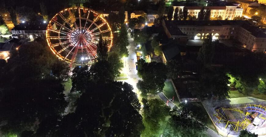 Центральный парк в Ставрополе