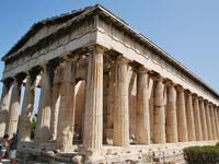 Храм Гефеста и Агора в Афинах