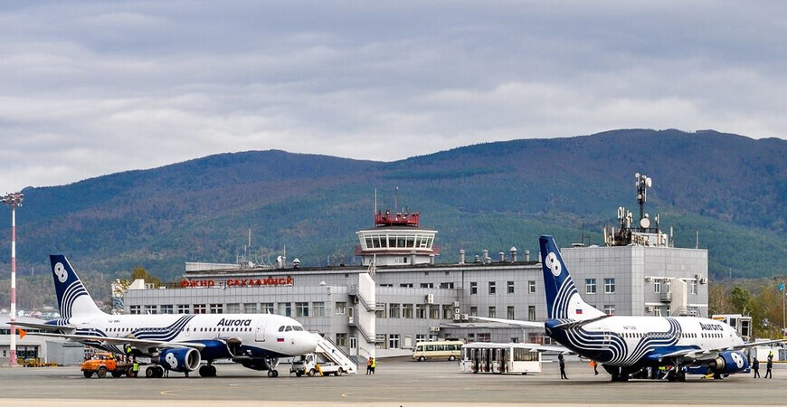 Аэропорт Южно-Сахалинска «Хомутово» имени Антона Чехова