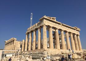 Прогулка по Акрополю в Афинах