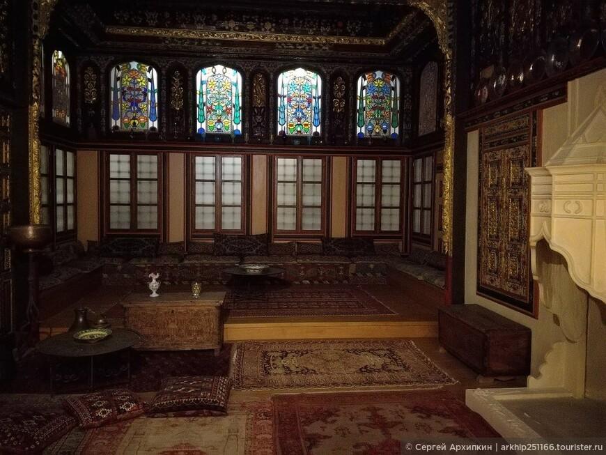 Здесь воссозданы интерьеры греческих домов во времена османов