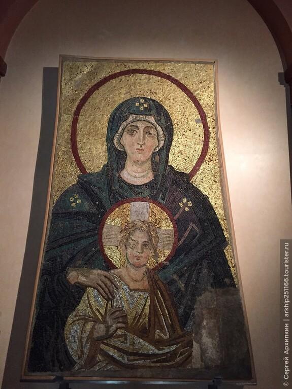Византийские мозаики (6 век)