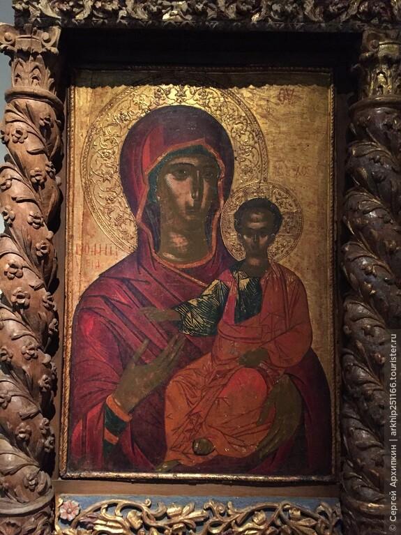 Византийские иконы в музее Бенаки
