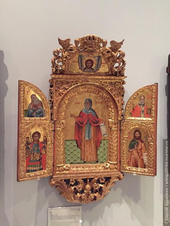 В музее Бенаки