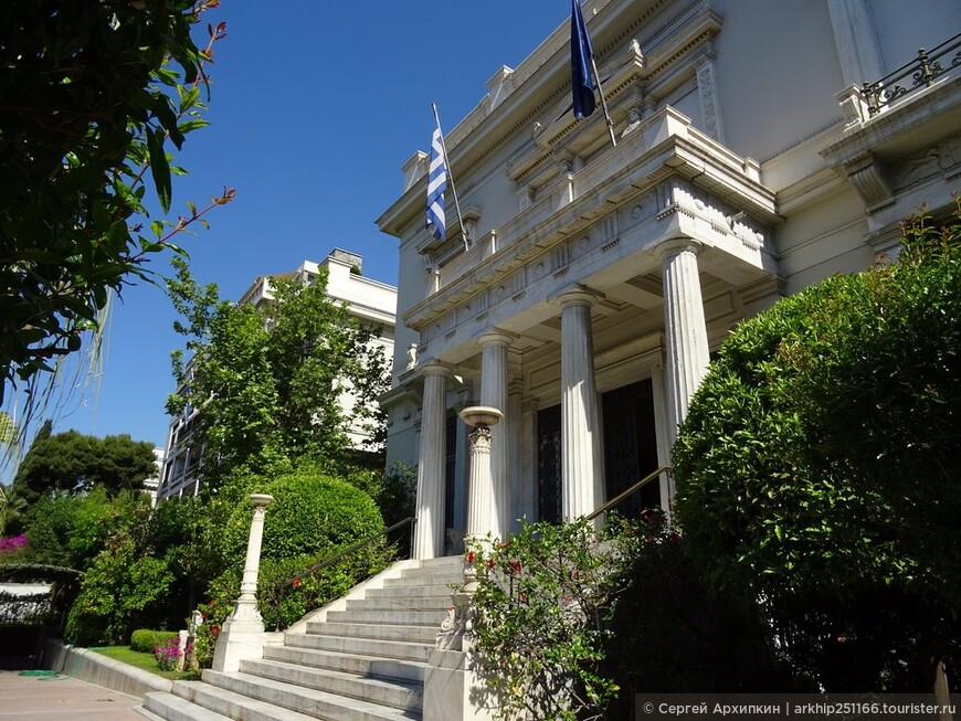 Здание музея Бенаки построено в середине 19 века