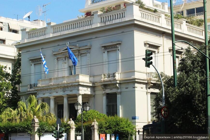 Музей Бенаки - одна из самых посещаемых достопримечательностей Афин.
