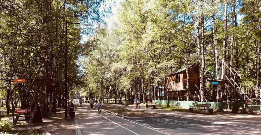 Парк «Нефтяник» в Ярославле