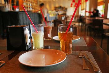 Лимонады Воды Лагидзе в ресторане Фуникулер
