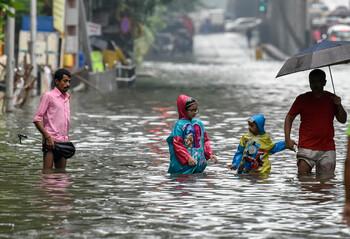 В странах Южной Азии из-за сильных ливней погибли уже 200 человек