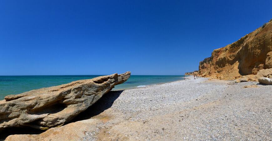Пляжи поселка Кача