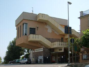 Станция фуникулера, лиц. Pubblico dominio (общественное достояние)