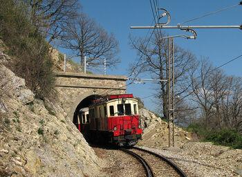 Исторический поезд, лиц. CC BY-SA 3.0