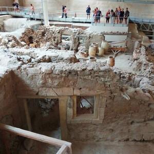 Санторини — археологическая Акротира