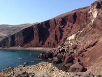 Красный и Черный пляжи острова Санторини