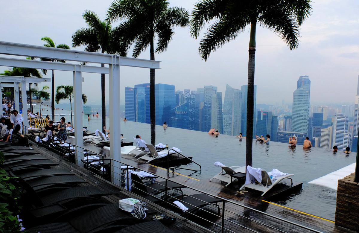 фотографии с видом отеля в сингапуре открываем изображение