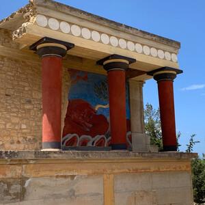 Самостоятельно в Ираклион — Кносский дворец