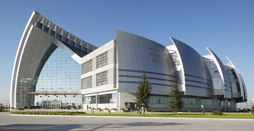 Научно-технический музей в Харбине (Heilongjiang Science and Technology Museum)