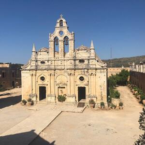 Монастырь Аркади возле Ретимно — святыня Греции